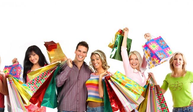 Visita ao Shopping